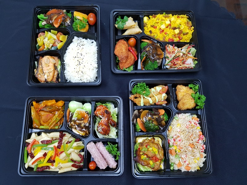Halal Bento Box option